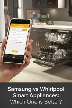 Smart technology is the latest innovation in the realm of appliances, and two of the largest and most popular brands—Samsung and Whirlpool—each have their own line of smart appliances on the market. Above Ground Pool Landscaping, Convection Cooking, Smart Kitchen, Cooking Instructions, Build Your Dream Home, Save Energy, Innovation, Connection, Kitchen Appliances