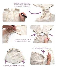 Cómo hacer un vestido de flamenca de bebé DIY