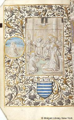 Book of Hours, MS M.285 fol. 145v - Images from Medieval and Renaissance Manuscripts - The Morgan Library & Museum