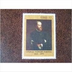 Ireland 1991 Charles Stewart Parnell mint stamp SG812 Art Sydney Hall painter
