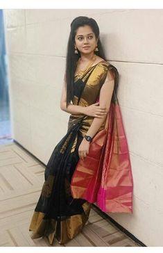 Silk Sarees, Sari, Fashion, Moda, Saree, Fashion Styles, Fashion Illustrations, Silk, Sari Dress