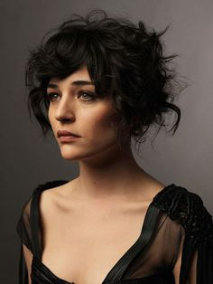 14- Short Hairstyles with Bangs