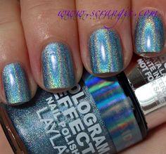 Layla Hologram Effect Nail Polish in 06 Mermaid Spell