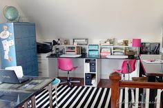 Something like this for the nook area. From the Finding Home blog