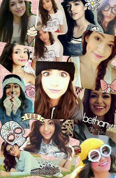 hey world meet my idol #bethanymota #cute #style #girly