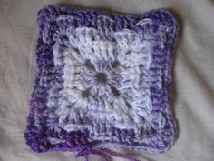 This stitch looks best when using variegated yarn. Try and find a few colors that look great together and try it out! If you make a blanket using this granny please share it on my blog.