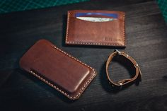 Horween Leather Iphone Case/Leather Phone от northwardhandcraft