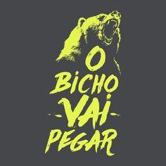 """47 Me gusta, 2 comentarios - Art Director (@feliweb) en Instagram: """"En Brasil se utiliza la expresión O BICHO VAI PEGAR cuando hay algún problema a la vista o la…"""""""