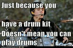 "When he plays his ""solos"", he has to have a guy urge the crowd to applaud and scream. -_- Btw, Bieber, try using a new fill, instead of the one you use...EVERY TWO TO FOUR BARS...while you're at it...take voice lessons... :P"