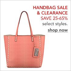 1604963d005 Handbag Sale and Clearance Save 25-65 percent select styles