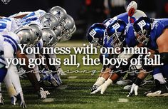 Kenny Chesney - The Boys of Fall.  PRHS Football is coming soon, August 2014.