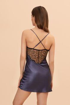 Image of Hour Before Dawn Short Slip Luxury Nightwear, Luxury Lingerie, Lingerie Sleepwear, Long Slip, Designer Lingerie, Bridal Lingerie, Dawn, Shopping, Dresses