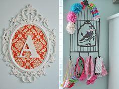 decoración_habitación_vintage_bebe6 COLGADOR DE DIADEMAS