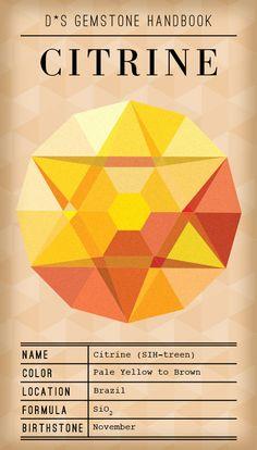 Design*Sponge / Gemstone Handbook: Citrine