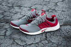 """Nike Air Presto Essential """"Cool Grey/Gym Red"""""""