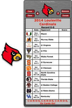 1000+ Images About Free College Football Schedule Widgets ...