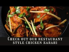 Chicken Karahi, Restaurant, Beef, Cooking, Youtube, Food, Style, Meat, Kitchen