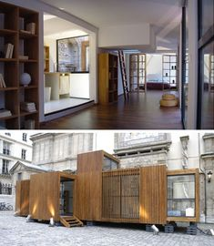 drop house: Not your typical metal box prefab home