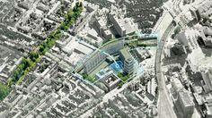 Waterplein   Rotterdam Netherlands   DE URBANISTEN « World Landscape Architecture – landscape architecture webzine