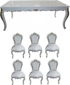 12 best Barock Esszimmersets images on Pinterest | Baroque, Chair ...
