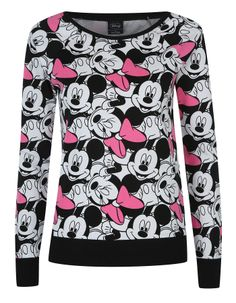Minnie and Mickey Mouse Sweater | Women | George at ASDA