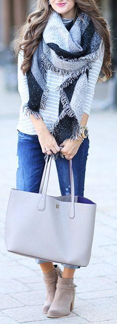 AG Brand jeans // striped mock neck turtleneck