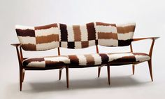 Fabulous, from the NYTimes: Designer Madeline Weinrib's textiles on midcentury furniture