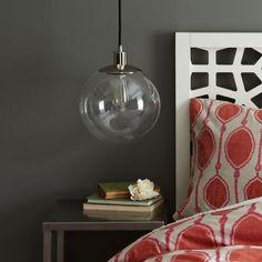 Globe Ceiling Lamp - Clear