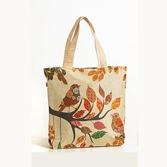 Animal Theme Bag - Birds-1