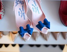 Vivienne Westwood for Melissa Lady Dragon bow shoes in pink and blue Vivienne Westwood Melissa, Vivienne Westwood Shoes, Im So Fancy, Bow Shoes, Vintage Wear, Wedding Shoes, Wedding Stuff, Crazy Shoes, Beautiful Shoes