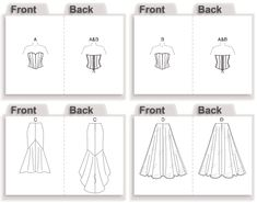 V2810 | Misses' Top and Skirt | View All | Vogue Patterns