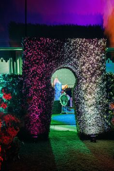alice in wonderland - entrance idea                                                                                                                                                      More
