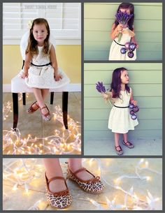 @Smart School House blogger Kelly outfitted her daughter in Carter's holiday styles for these beautiful photos. #CartersHoliday