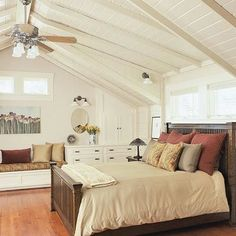 A bedroom in the #attic can return a higher value than almost any other #remodeling investment. Read this blog post to find out how and if an attic bedroom could be for you!