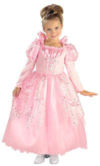Girls Pink Fairy Tale Princess Costume - Girls Princess Costumes