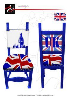 Sedia Mondiale Castestyle Inghilterra