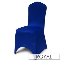 This chair cover features elastic foot pockets for durability. Spandex Chair Covers, Fabric, How To Make, Collection, Ideas, Home Decor, Tejido, Tela, Decoration Home