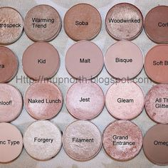 Mac eyeshadows, I want all of these! SO pretty!