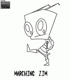 Chibi pokemon coloring pages google search chibi for Invader zim coloring pages online
