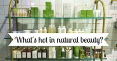 Latest trends in Natural Skincare The last few years has seen a massive rise in the natural and organic skincare market and organic is the fastest growing segment of the global personal care industry.