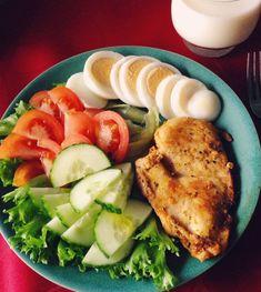 Comida sana comida en 2019 healthy recipes, healthy eating y Healthy Meal Prep, Healthy Snacks, Healthy Eating, Dinner Healthy, Diet Recipes, Healthy Recipes, Clean Recipes, Food Inspiration, Meal Planning