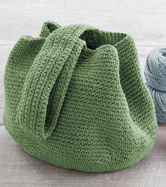Crochet Bucket Bag: free pattern for you :) #yarn