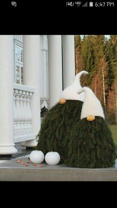 The Most Alluring Scandinavian Christmas Decoration Idea.- The Most Alluring Scandinavian Christmas Decoration Ideas omg these scandi tree gnomes are da bomb diggity! Christmas Gnome, Outdoor Christmas, Christmas Projects, Winter Christmas, Christmas Trees, Christmas Sayings, Scandinavian Christmas Decorations, Christmas Tree Decorations, Outdoor Decorations