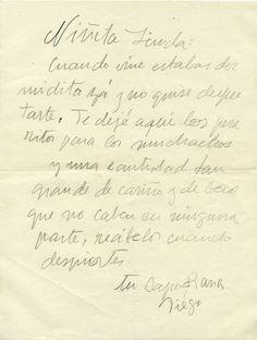 MILENIO comparte, en exclusiva, algunas cartas de amor entre Frida Kahlo y Diego Rivera que acoge la Casa Azul donde alguna vez vivieron estos artistas.