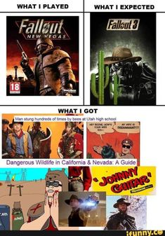 Fallout Take me home Fallout Tips, Fallout Fan Art, Fallout Funny, Fallout Comics, Fallout New Vegas, Video Games Funny, Funny Games, Heatwave Band, Gaming Memes