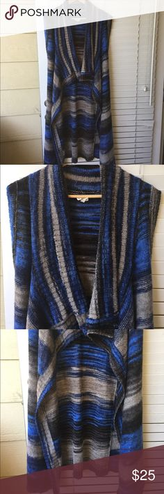 """Anthropologie Sweater Moth Beautiful long warm sweater.100% AcrylicBack Length is 43"""" and the front is 19"""" Anthropologie Sweaters"""