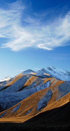 Lindis Pass, Central Otago, New Zealand