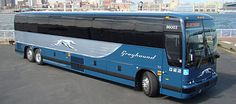 one of greyhound's new buses