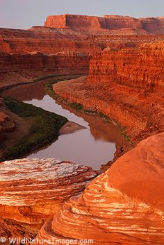 Moab Red Rock and the Colorado River, near Moab, Utah; photo by Ron Neibrugge