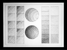 Basic Drawing, Drawing Lessons, Shading Techniques, Art Techniques, Pencil Shading, Pencil Drawings, Geometric Shapes Art, Principles Of Design, Art Corner